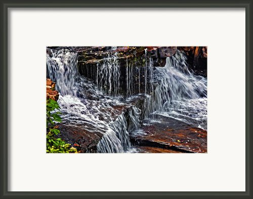 Autumn Falls 3 Framed Print By Steve Harrington