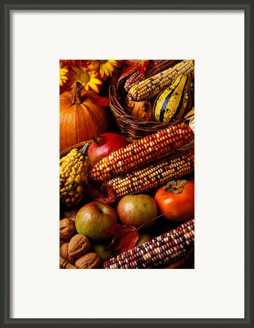 Autumn Harvest  Framed Print By Garry Gay