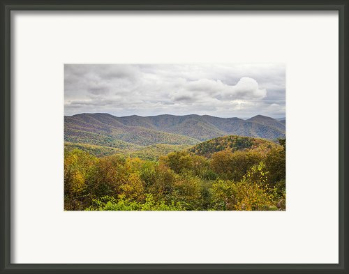 Autumn In Shenandoah National Park Framed Print By Pierre Leclerc