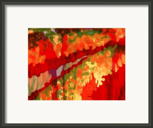 Autumn In The Piedmont Framed Print By Patricia L Conklin