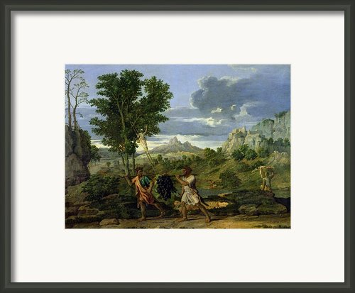 Autumn Framed Print By Nicolas Poussin