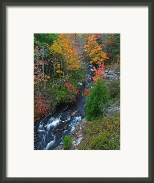 Autumn Peak Colors Framed Print By Juergen Roth