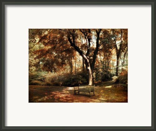 Autumn Repose Framed Print By Jessica Jenney
