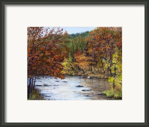 Autumn River Framed Print By Jack Skinner