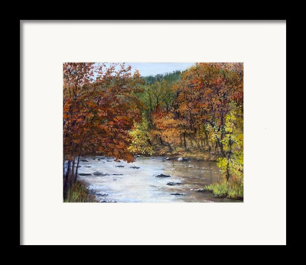 Autumn River Framed Print By Jack Skinner