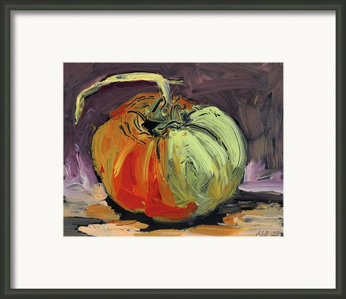 Autumn Tomato Framed Print By Scott Bennett