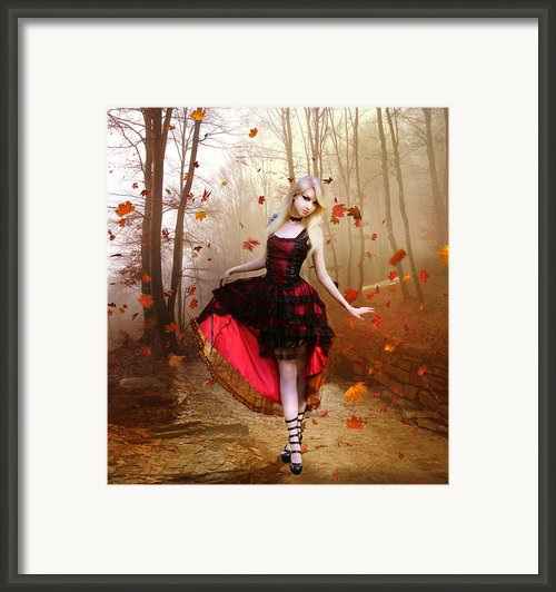 Autumn Waltz Framed Print By Karen Koski