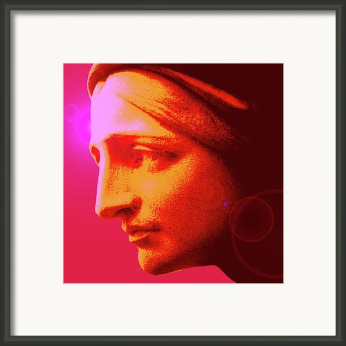 Ave-maria No. 02 Framed Print By Ramon Labusch
