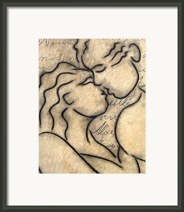 Avec Amour Framed Print By Tom Fedro - Fidostudio