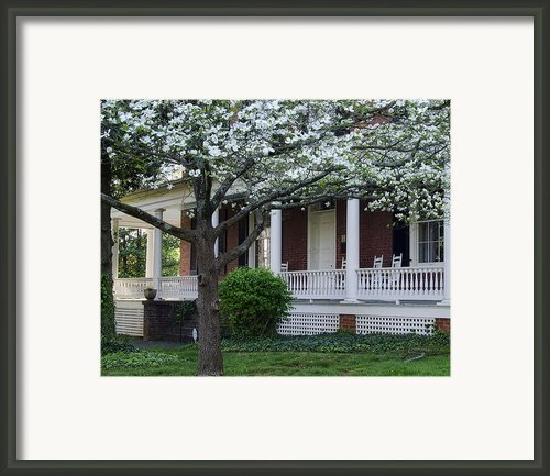 Avenel - Bedford - Virginia Framed Print By Steve Hurt