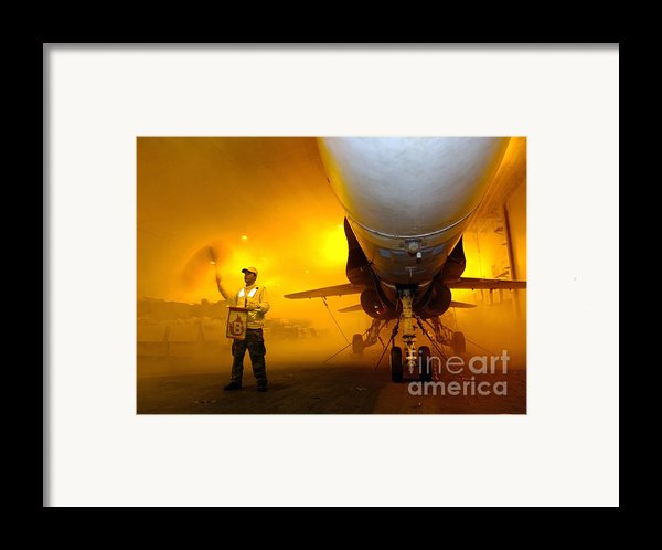 Aviation Boatswains Mate Waves Class Framed Print By Stocktrek Images