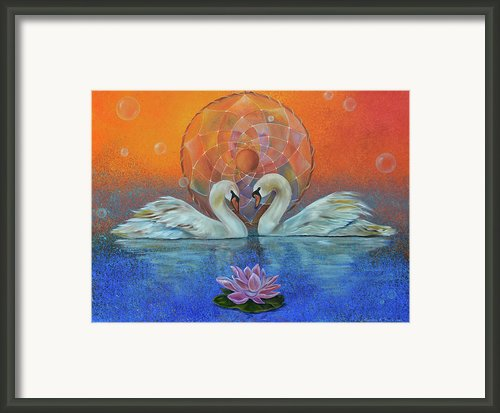 Awakening To The Beauty Within Framed Print By Sundara Fawn