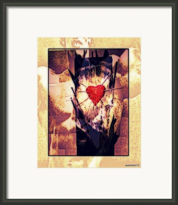 Awareness In Potential State Framed Print By Paulo Zerbato