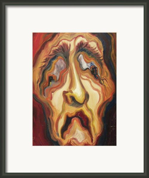 Awful Life Framed Print By Suzanne  Marie Leclair
