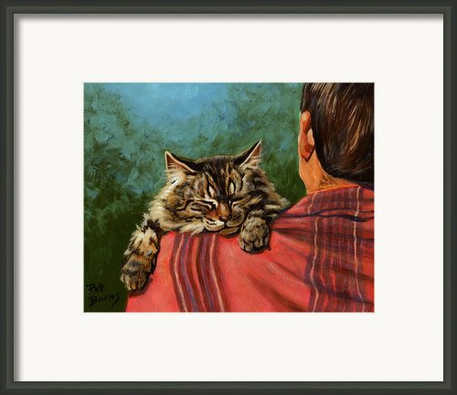 Babyface Framed Print By Pat Burns