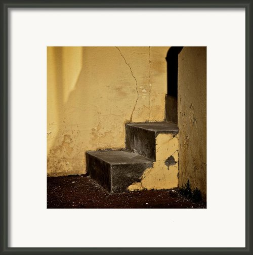 Back Door Framed Print By Odd Jeppesen