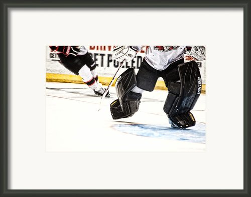 Back To The Crease Framed Print By Karol  Livote