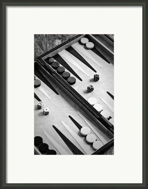 Backgammon Framed Print By Joana Kruse