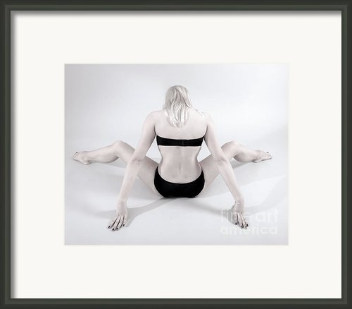 Backside Framed Print By Pierre-jean Grouille