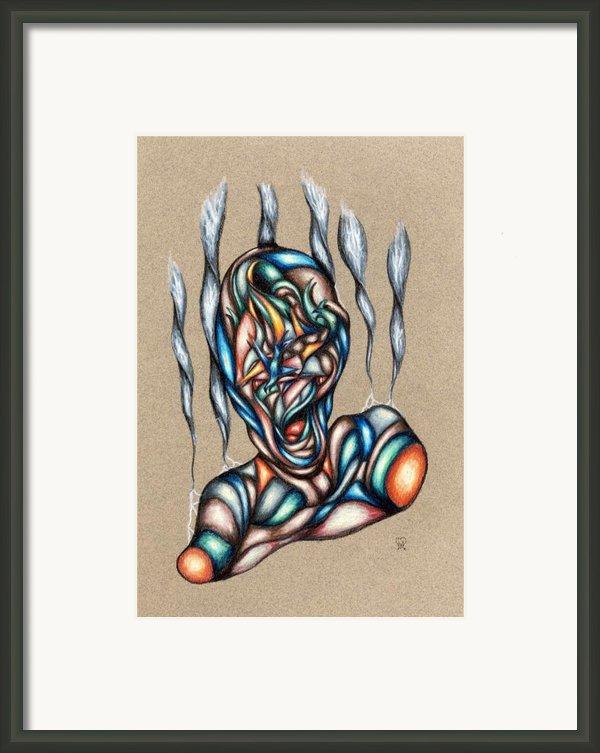 Bad Day Framed Print By Karen Musick