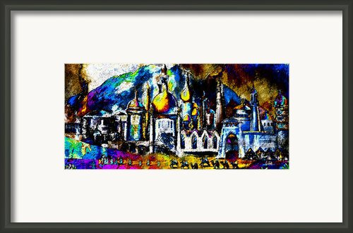 Baghdad  Framed Print By David Lee Thompson