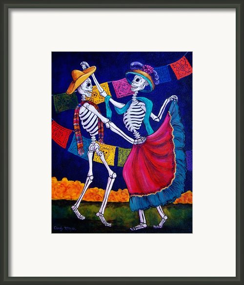 Bailando Framed Print By Candy Mayer