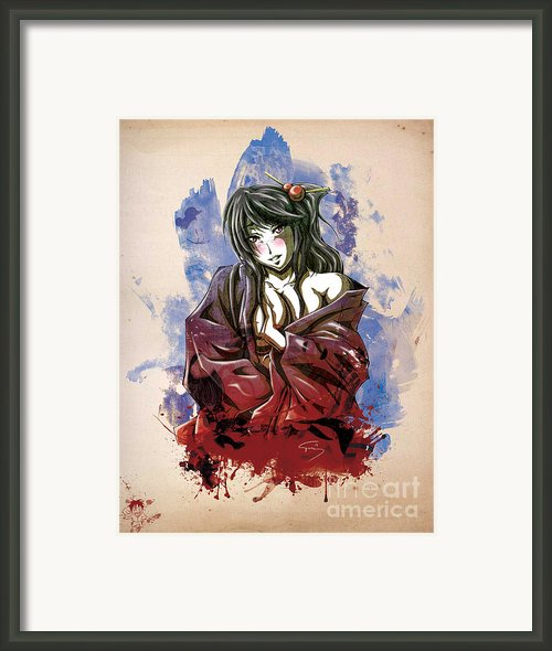 Baishun Framed Print By Tuan Hollaback