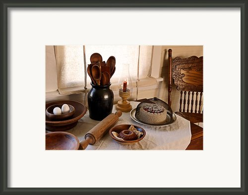 Baked Goods Framed Print By Carmen Del Valle