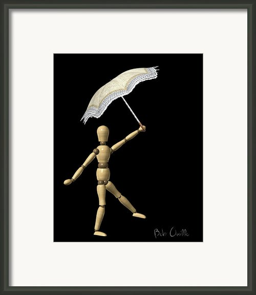 Balance Framed Print By Bob Orsillo
