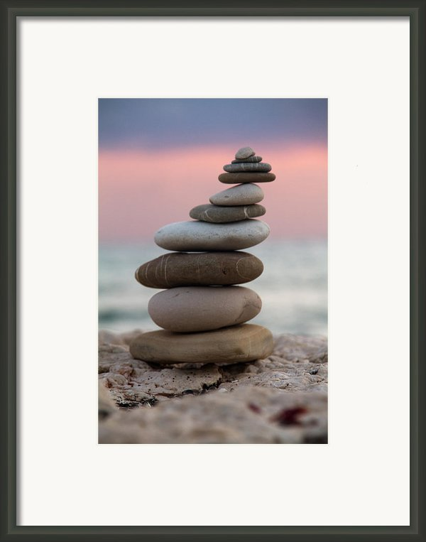 Balance Framed Print By Stylianos Kleanthous