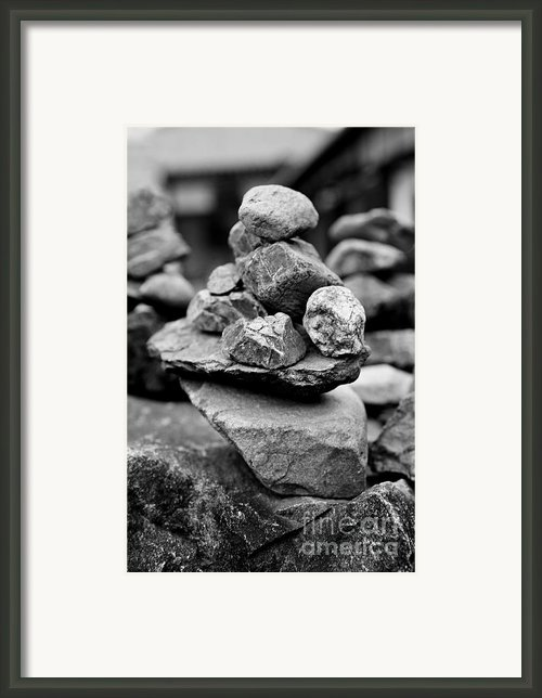 Balanced Framed Print By Dean Harte