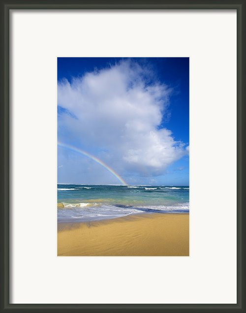Baldwin Beach Framed Print By Ron Dahlquist - Printscapes