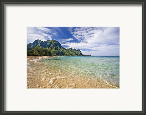 Bali Hai Kauai Framed Print By Monica & Michael Sweet - Printscapes