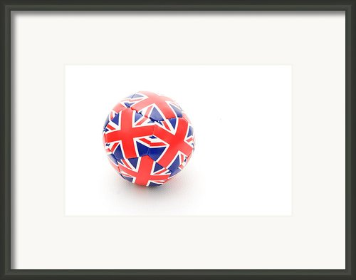 Ball Framed Print By Tom Gowanlock
