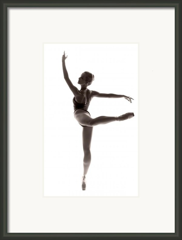 Ballerina Grace Framed Print By Steve Williams