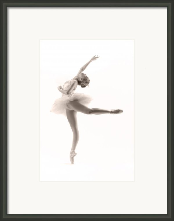 Ballerina Framed Print By Steve Williams