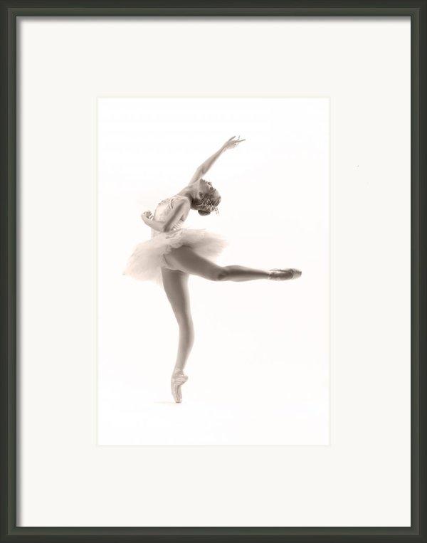 Ballerina Framed Print By Steve Williams