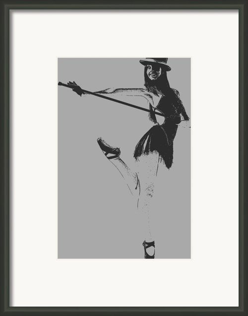 Ballet Girl Framed Print By Irina  March