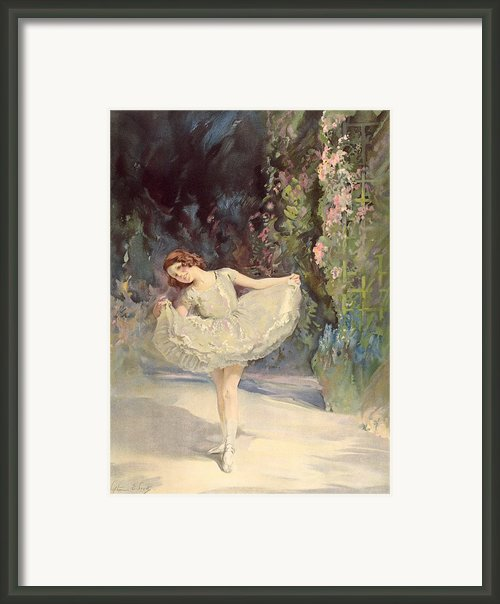 Ballet Framed Print By Septimus Edwin Scott