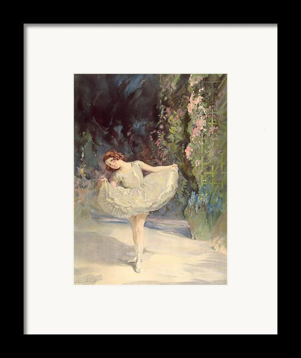 Ballet Framed Print By Septimus Edwin Scott