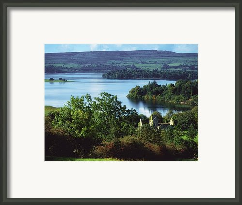 Ballindoon Abbey, Lough Arrow, County Framed Print By The Irish Image Collection