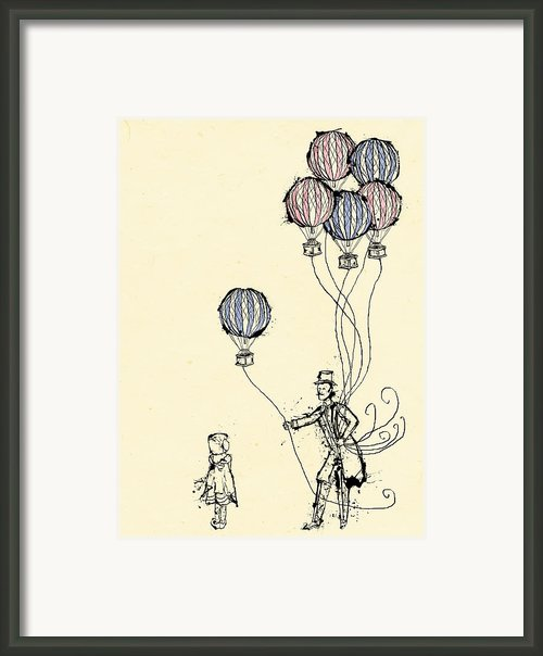 Ballons For Sale Framed Print By William Addison