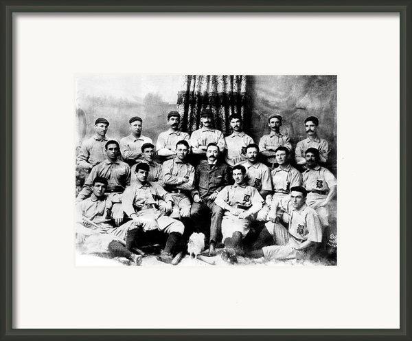 Baltimore Orioles, Champion Baseball Framed Print By Everett