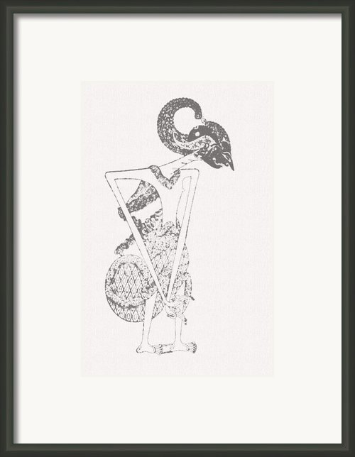 Bambang Sakutrem Framed Print By Dedi Dolrased