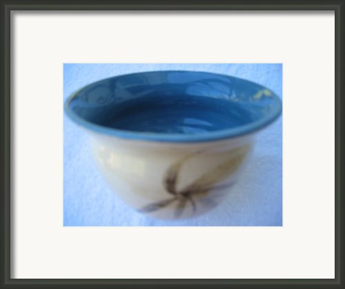 Bamboo Vessel Framed Print By Julia Van Dine