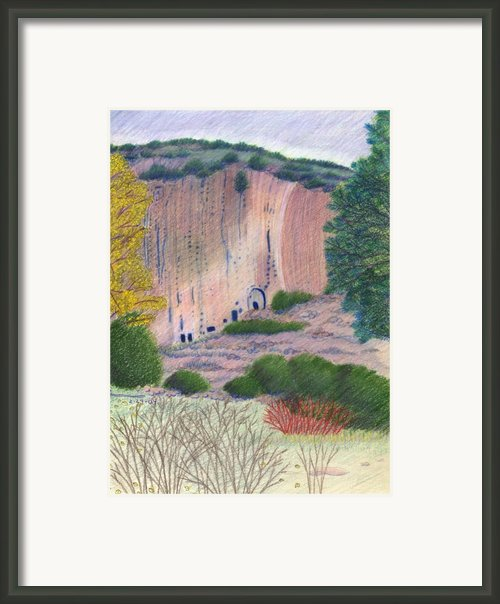 Bandelier 2004 Framed Print By Harriet Emerson