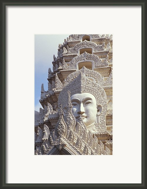 Bangkok, Wat Ratchapradt Framed Print By Bill Brennan - Printscapes