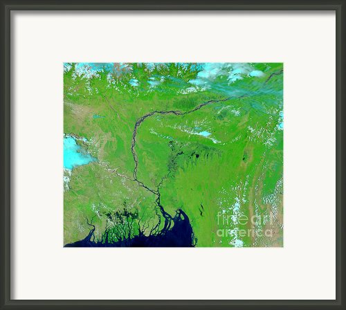 Bangladesh Framed Print By Nasa