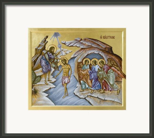 Baptism  Framed Print By Julia Bridget Hayes