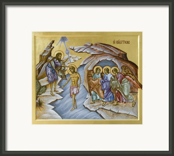 Baptism  Framed Print By Julia Bridget Hayes
